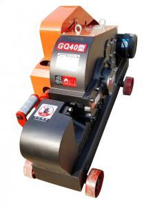 China High Flexibility Rebar Thread Cutting Machine , Factory Metal Cutting Machine on sale