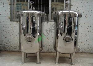 China Customized Multi Bag Filter Housing Side Inlet Stainless Steel 304 316 Material on sale