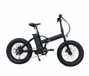 China Electric fat bike , Bafang motor 48v 500w  20  fat electric bike / folding ebike on sale