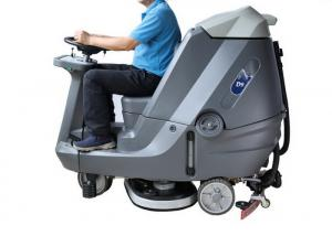 China Automatic Ride On Sweeper Scrubber , Factory Stone Floor Cleaner Machine on sale