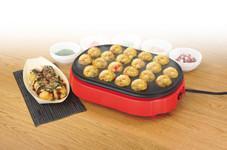 China Elecric Multi Cooker Household Grill Takoyaki Maker With Auto Temperature Control on sale