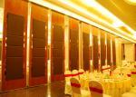 Нутряная дверь складывая внутренние двери для панелей конференц-зала 85mm