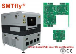 China FPC Separator Laser PCB Depaneling Machine 2500mm/S Laser Scanning Speed SMTfly-5L on sale