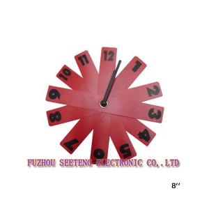 China Nice color high quality  new design round shape  wall clock models on sale