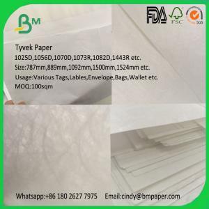 China BMPAPER 1070d 1025d 1073d Tyvek Paper Sheet on sale