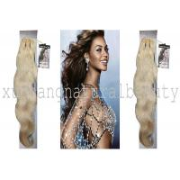 100 Virgin Indian Remy Hair Extensions , Body Wave Human Hair Tangle Free OEM