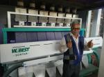 Newest Generation High accuracy Sesame seeds color sorter machine