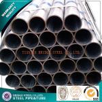 Le zinc Q235 a enduit le tuyau d'acier structurel SCH80 SCH160, tuyau galvanisé d'échafaudage