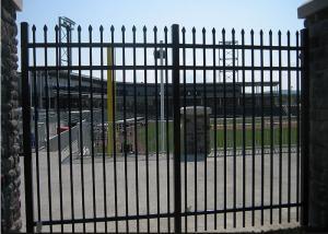 China Easy Install / Handle Decorative Wrought Iron Fence Panels Maintenance Free on sale