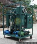 Dehydration Turbine Oil Purifier 600~18000LPH Recycling Mobile Type With Trailer