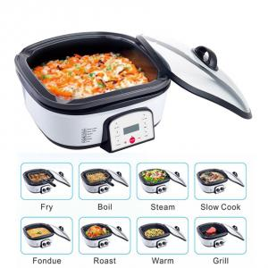China 8 in 1 Multifunctional food pot cooker multi electric bbq grill with hot pot on sale