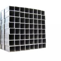 China 2.5 Inch Mild Steel Square Tube Chemical Stable Environmental Friendly Decorative on sale