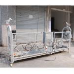 plataforma ZLP800 suspendida corda de levantamento aérea de aço de 7.5M para a manutenção do edifício