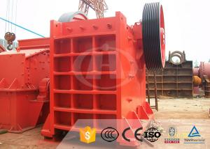 China High Efficient 15-75 KW Concrete Jaw Crusher For Metallurgical Industry on sale