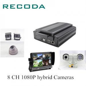 China 5W 4G Live Streaming Hard Disk Mobile Vehicle DVR Support G Sensor GPS  / WIFI on sale