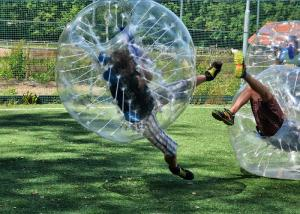 China Safe Outdoor Inflatable Toys Children Bumper Ball , Human Hamster Ball Bubble Soccer on sale