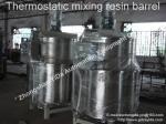 Baril de mélange thermostatique de résine