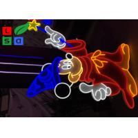 China Multi Color Customized Made Art Design Led Neon Signs For Christmas Festival Decoration Lights on sale
