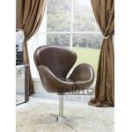 silla de cuero del estilo antiguo de Europa, #2017B