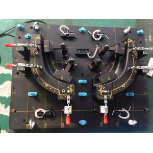 China Welding Jigautomobile Fixtures Aluminium Parts High Precision Customized Size on sale