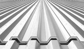 China Residential Roofing Aluminum Sheet Roll , Aluminium Flat Sheet Troughed Finish on sale