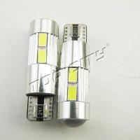 China WholesaleT10-10SMD 5630 LENS Car LED Bulbs on sale