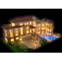 China Private Residential Miniature Architectural Model Maker , Garden House Scale Model Making on sale