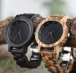 Wooden Watch OEM Men's Quartz Watch Logo Customized Environmental Fashion Watch Belt