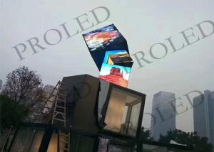 China Diamond Shape Irregular Led Display , Customized Creative Led Screen on sale