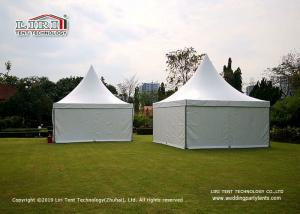 China 5x5m 10 People Aluminum Material Outdoor Party Tents / Luxury Glamping Tents supplier