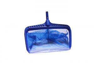 China Heavy Duty Pool Leaf Skimmer ABS Frame Pool Leaf Rake Deep Bag Fine Mesh Net on sale
