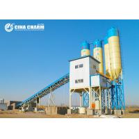 China Automatic Aggregate Batching Plant , Cement Mixing Plant With Cement Silo on sale