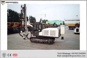China TDR100 DTH Drill Rig With 164Kw Cummins Engine 64 - 102mm Hole Diameter on sale