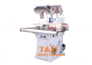 China Hot Head Laundry Shirt Press Machine , Collar Cuff Dry Cleaning Iron Press on sale