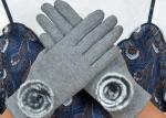 China Warm Super Soft Phone Friendly Gloves , Texting Winter Gloves With Smart Touch  wholesale