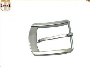 China Strong 1.5 Inch Mens Metal Belt Buckles Pin Buckle Pearl Nickel Brushed Color on sale