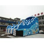 Blue Wave Kids Inflatable Water Slide For Pool CE , EN14960 , SCT , EN71