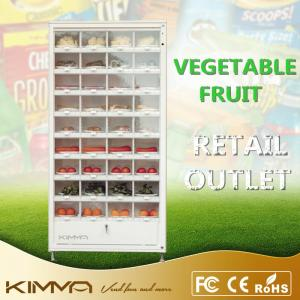 China Automatic Shop Cell Cabinet Healthy Vending Machines For Vegetable Fruit Eggs Box Item on sale