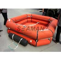 4 / 6 / 8 Person Inflatable Life Raft Leisure Inflatable Raft For Emergency