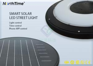China 15W Solar Powered Motion Sensor Outdoor LED Garden Lights LiFEPO4 Battery Type on sale