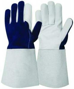 China Premium Pig Grain Leather Industrial/ Welding Gloves on sale