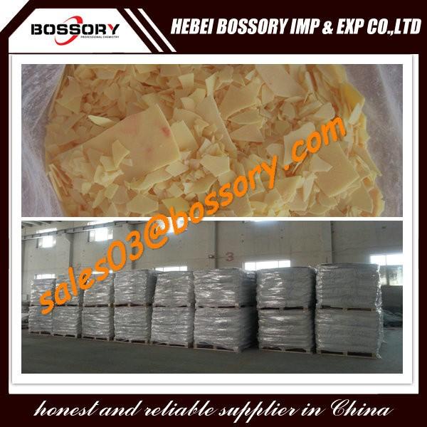 Na2S Sodium sulphide/sodium sulfide 60% yellow flakes 30ppm