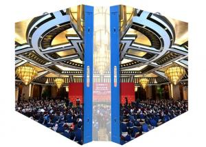 China P2 Indoor Fixed LED Display Screen / Led Video Screens with Steel Cabinet on sale