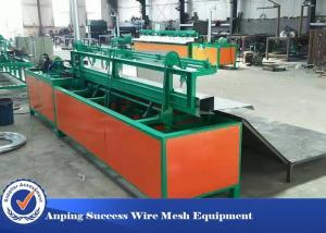 China Semi Automatic Chain Link Machine , Chain Link Weaving Machine Easy Operation on sale