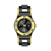 Double Dial Silicone Band Watches For Men , Silicone Belt Watches