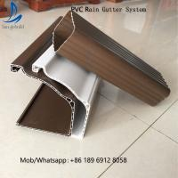 San-gobuild Cheap Price Anti-Corrosion Roofing Plastic Rain Water Gutter Downspout Pvc Gutter Fittings