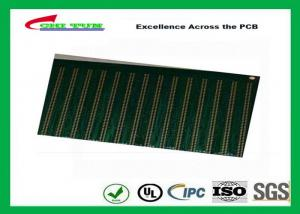 China Electronic PCB Board with FR4TG150 1.6MM Immersion Gold  min.hole size 0.25mm on sale