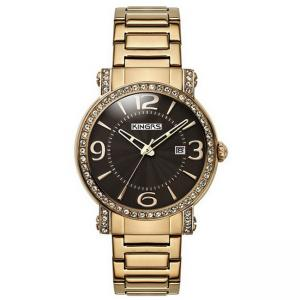 China Gold Trendy women's luxury watches , Ladies Wrist Watches With Quartz Movement on sale
