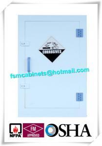 China Safety Hazardous Polypropylene Storage Cabinets ,  Acid Fire Resistant File Cabinets on sale
