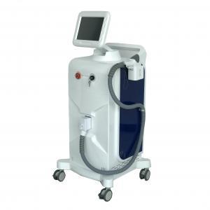 China Diode Laser Soprano Laser Machine , Ice Cooling 808nm Hair Removal Machine 800 Watt on sale